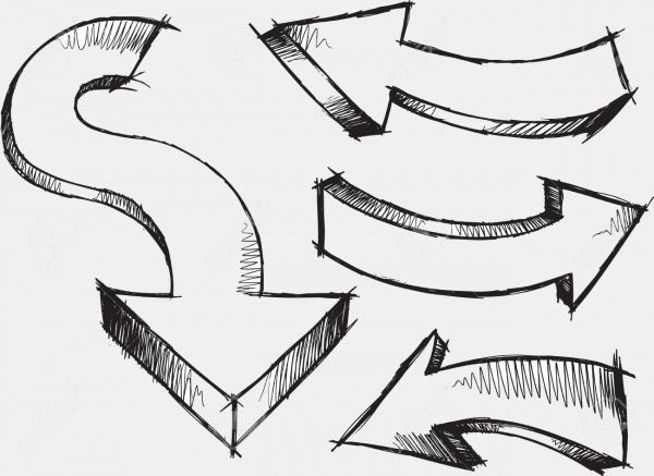 Sketchy Hand Drawn Illustration