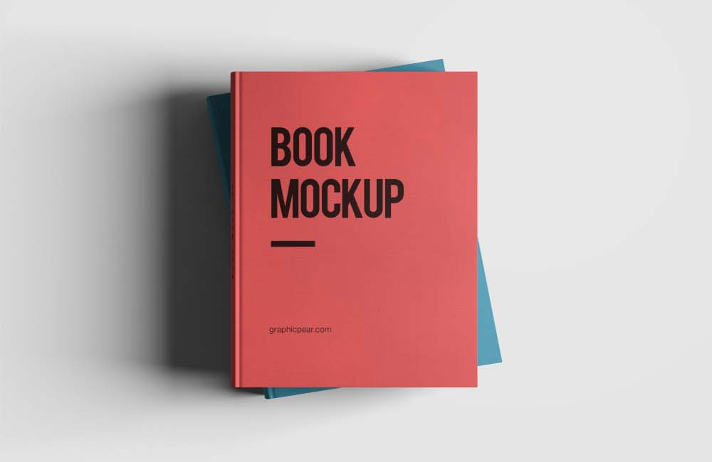 Smart Layered Book Mockup