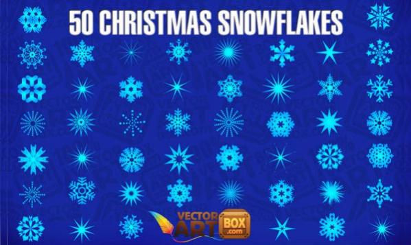 Snowflake Vector Art Free
