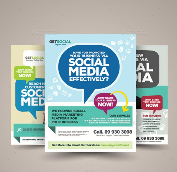 Social Media Flyer For Desktop