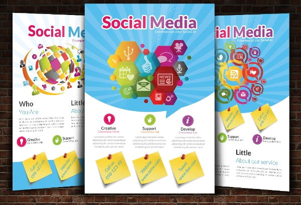 Social Media PSD Flyer Design