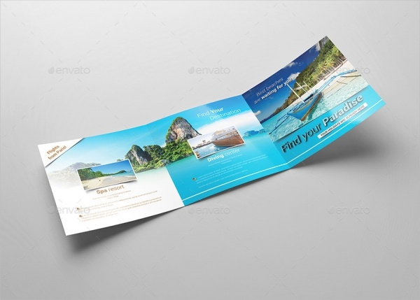 Tourism Brochure Designs  Psd Vector Eps Download