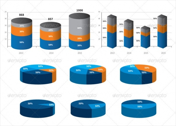 Statistics Infographic Vector Elements