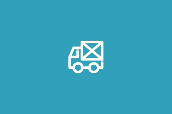 Stunning Mail Truck Logo