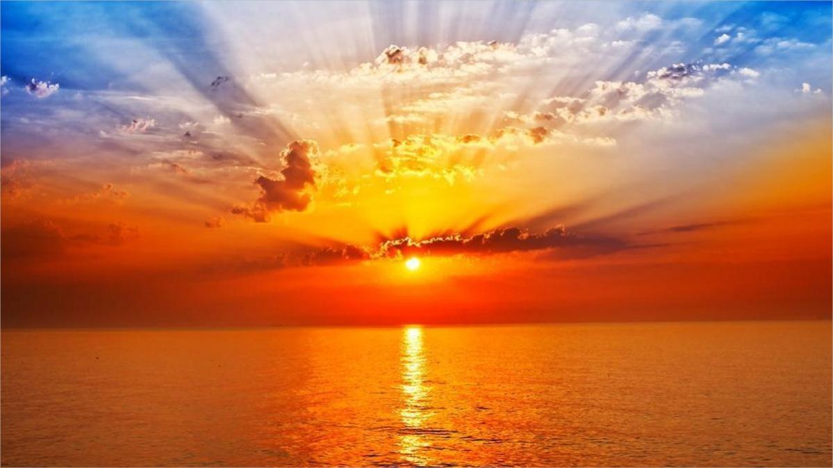 Sun Rise Free Live Wallpaper