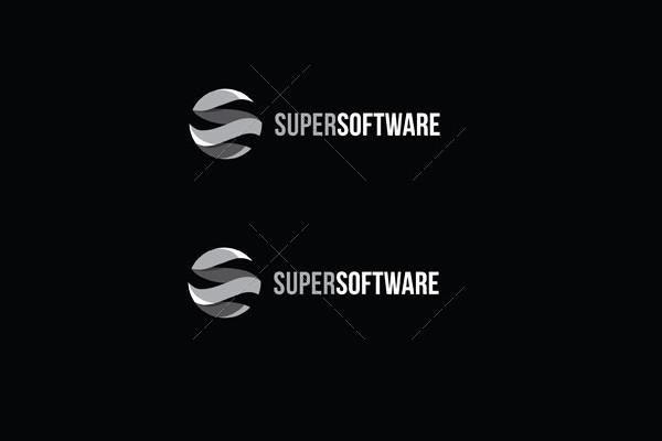 Super Software Logo Design