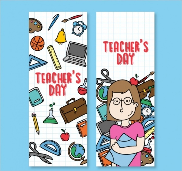 Teachers Day Educational Banners