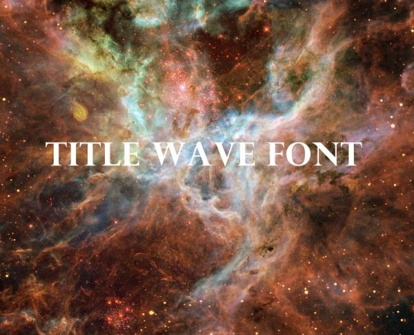Title Wave Font Download
