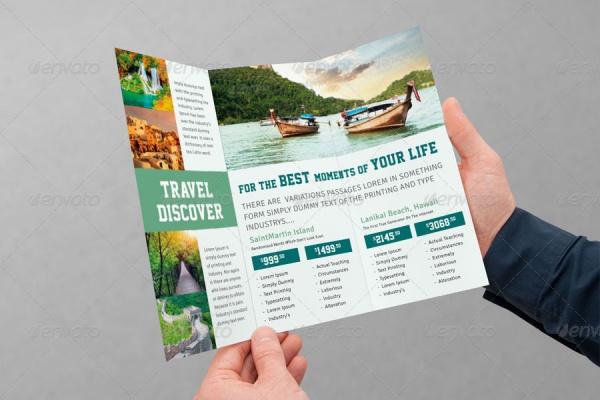 Tourism InDesign Brochure