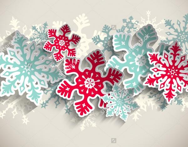Transparency Vector Snowflake