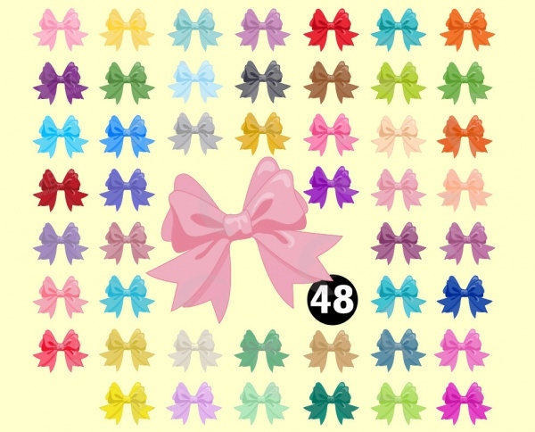 Transparent Bow Rainbow Clipart