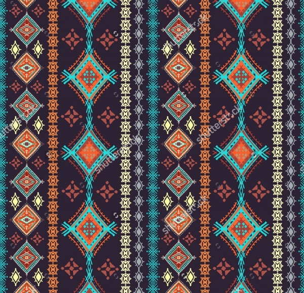 Tribal Bohemain Pattern Design