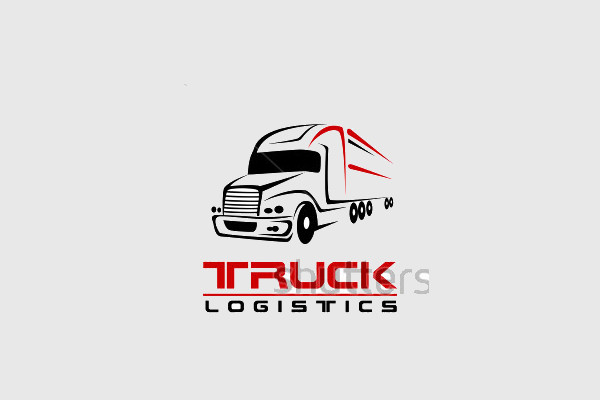 trucking company logos  20  Truck Logo Designs - Vector EPS, AI Illustrator Download