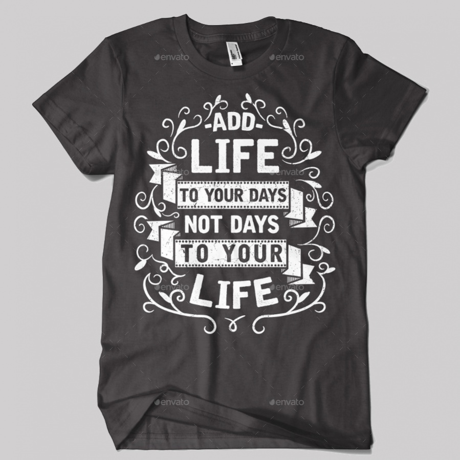 Typography T-shirt Design