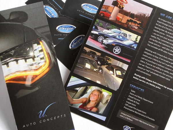 Unique Auto Concepts Brochure