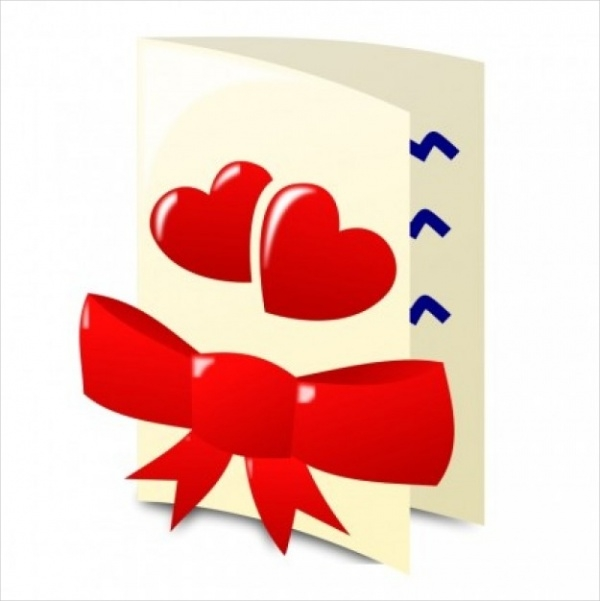 valentine day icon vector clip art