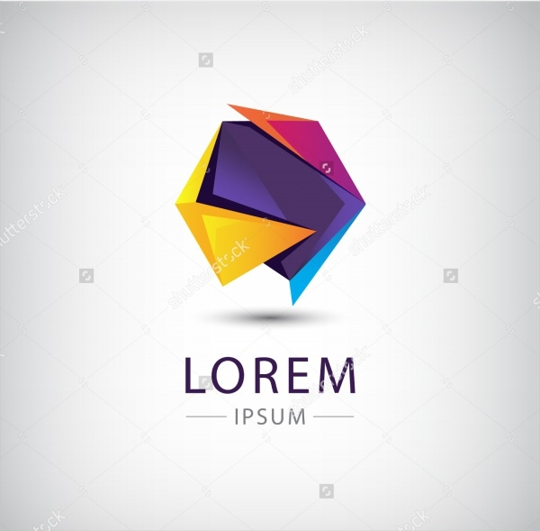 20 origami logo designs psd ai illustrator vector eps