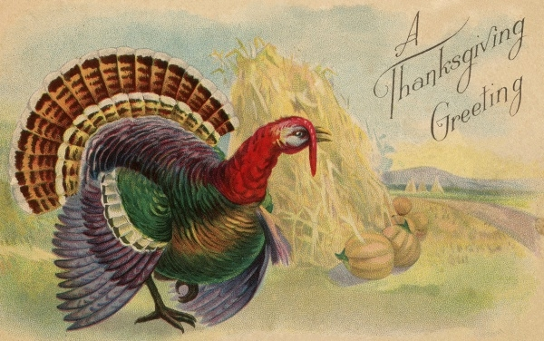 Vintage Thanksgiving Turkey Clipart