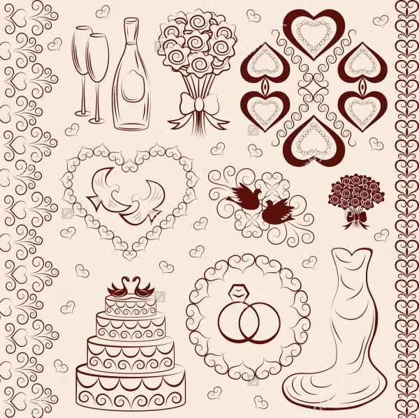 Wedding Bouquet Clipart