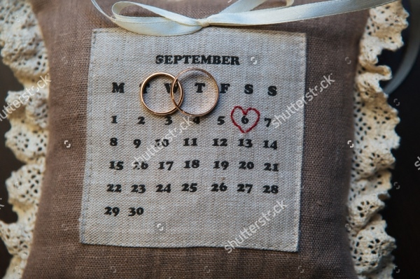 Wedding Countdown Calendar Design
