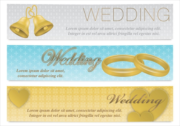 Wedding Event banner design
