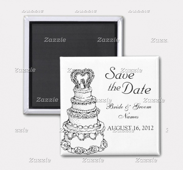 Wedding cake Clipart Design