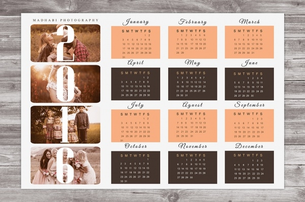 Yearly Calendar Design : Yearly calendar templates psd vector eps download