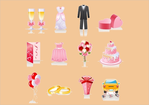 fabulous anniversary Graphic icons