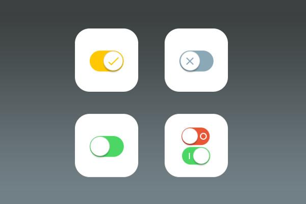 iOS Vector Setting Icons