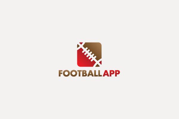 stunning Football App Logo