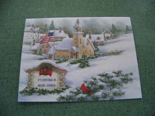 Homemade Printable Christmas Card