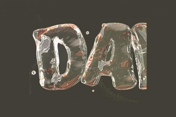 3D Bubble Letters