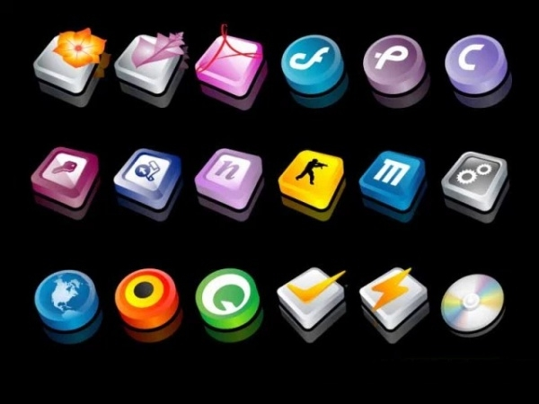 3d icons for android