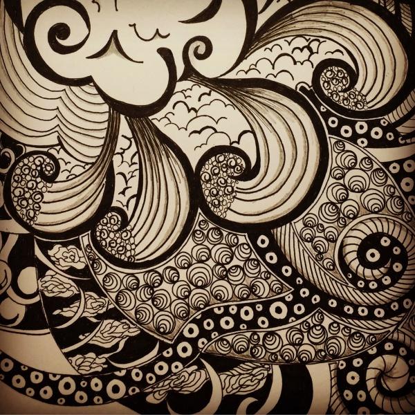 Creative Zentangle Pattern