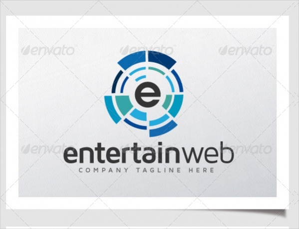 Abstract Entertainment Web Logo