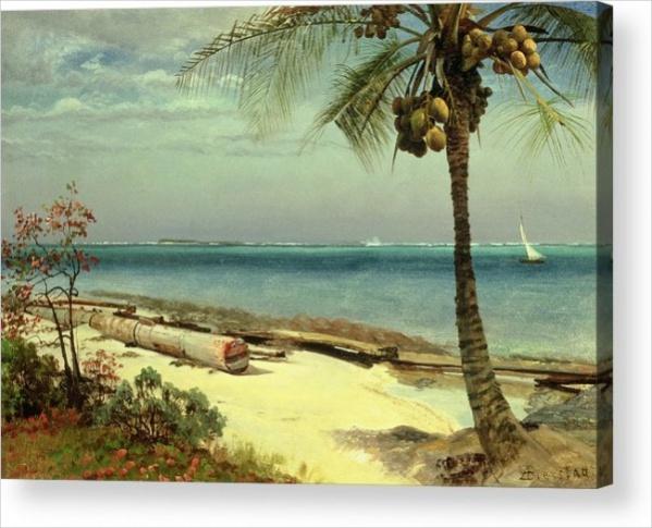 Acrylic Beach Painting