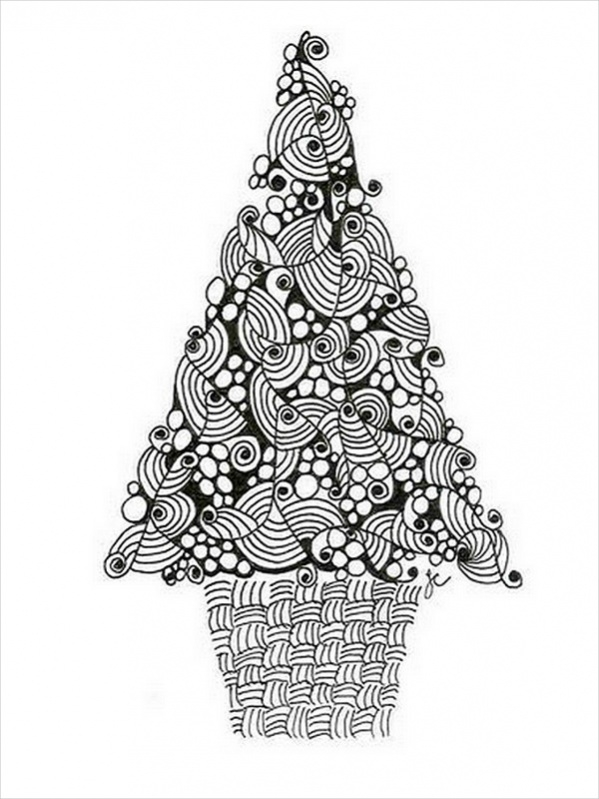 20 Christmas Coloring Pages Vector Eps Pdf Download
