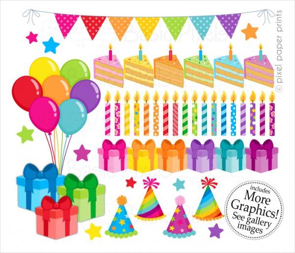 Amazing Birthday Clipart