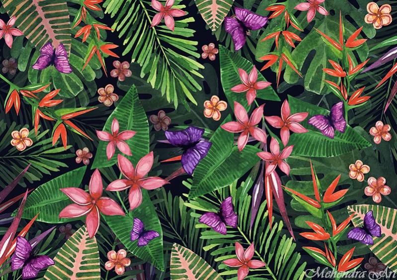 Amazing Flower Pattern Design