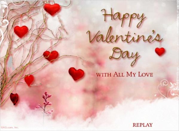 Amazing Valentine Love Ecard