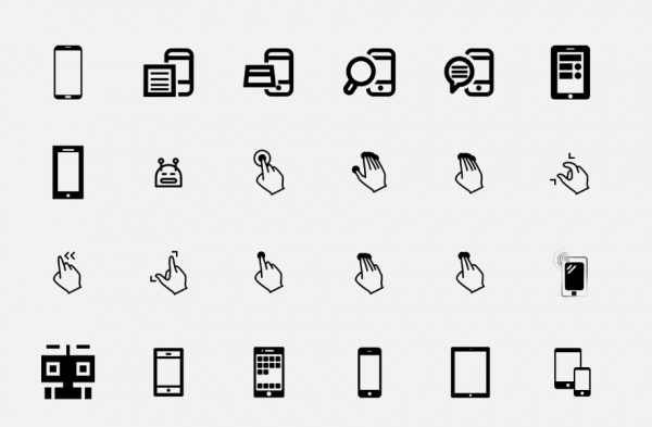 android phone icons