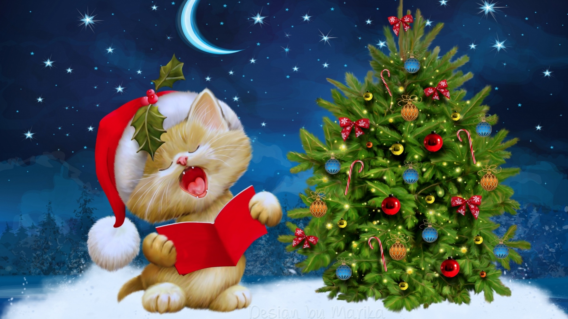 Animated Christmas Backgrounds