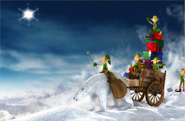 Animated Christmas Picture