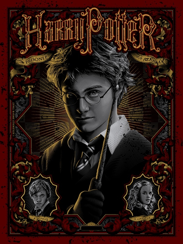 Animated Harry Potter Movie Poster