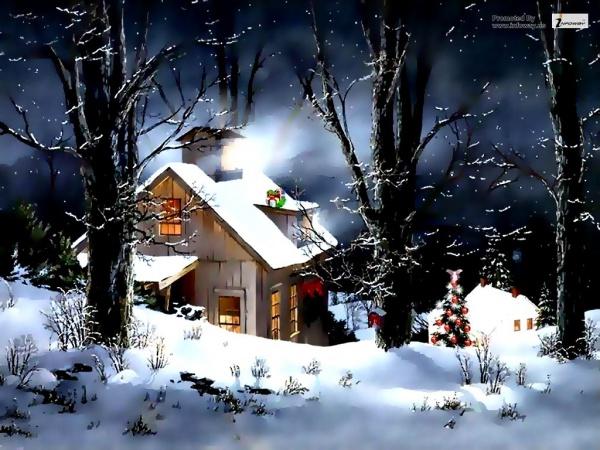Animated Merry Christmas Image