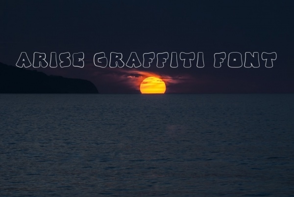 Arise Graffiti Font
