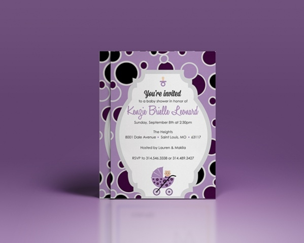 Baby Shower Invitations Samples Free