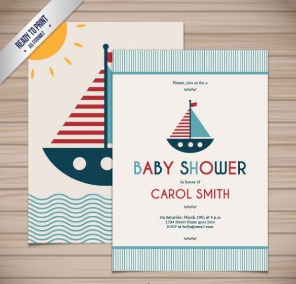 Baby Shower Nautical Printable