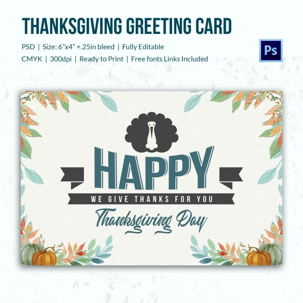 Beautiful Thanksgiving eCard.