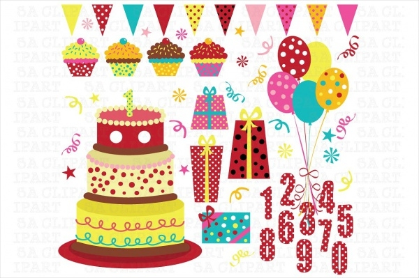 Birthday Party Clipart